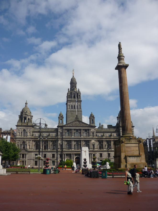 Nube en George Square