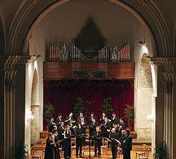 Músico en Iglesia De San Miguel