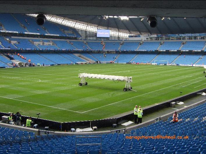 Estadio en City of Manchester Stadium