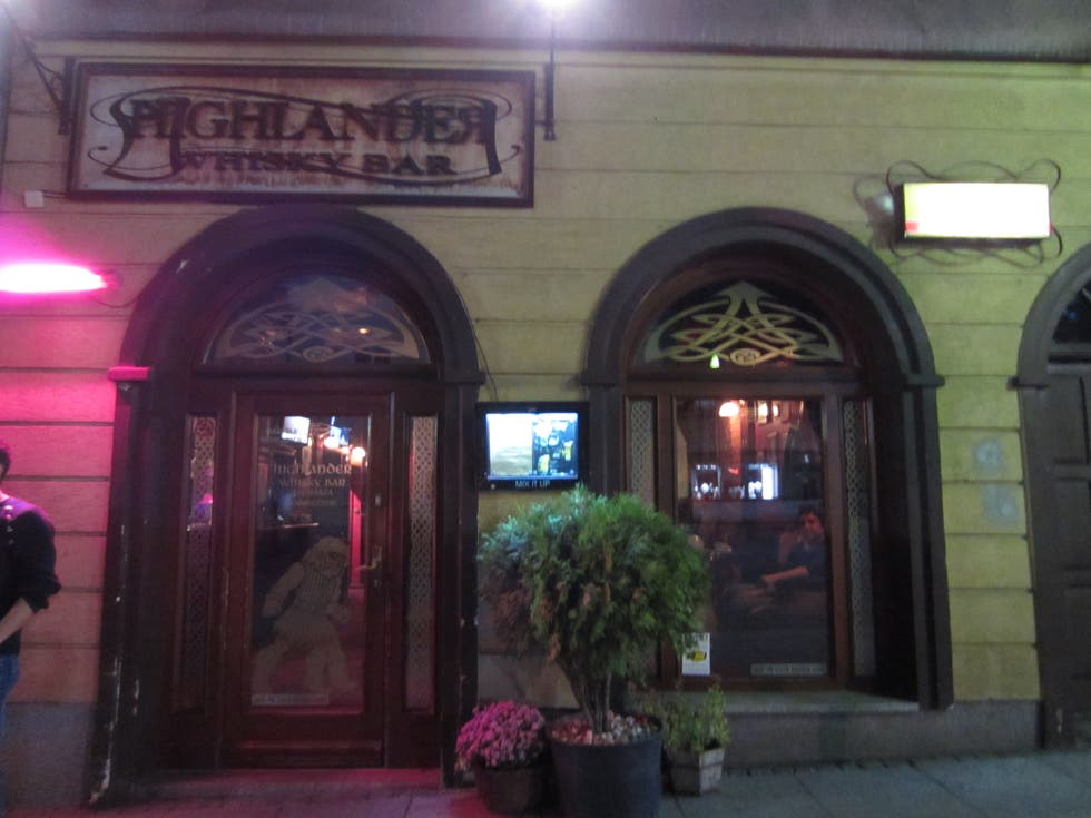 Taberna en Highlander whisky bar
