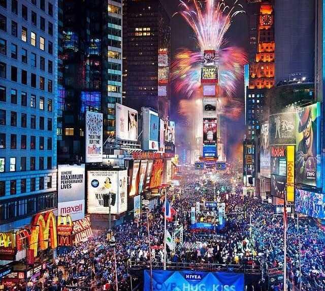 Juguete en Times Square