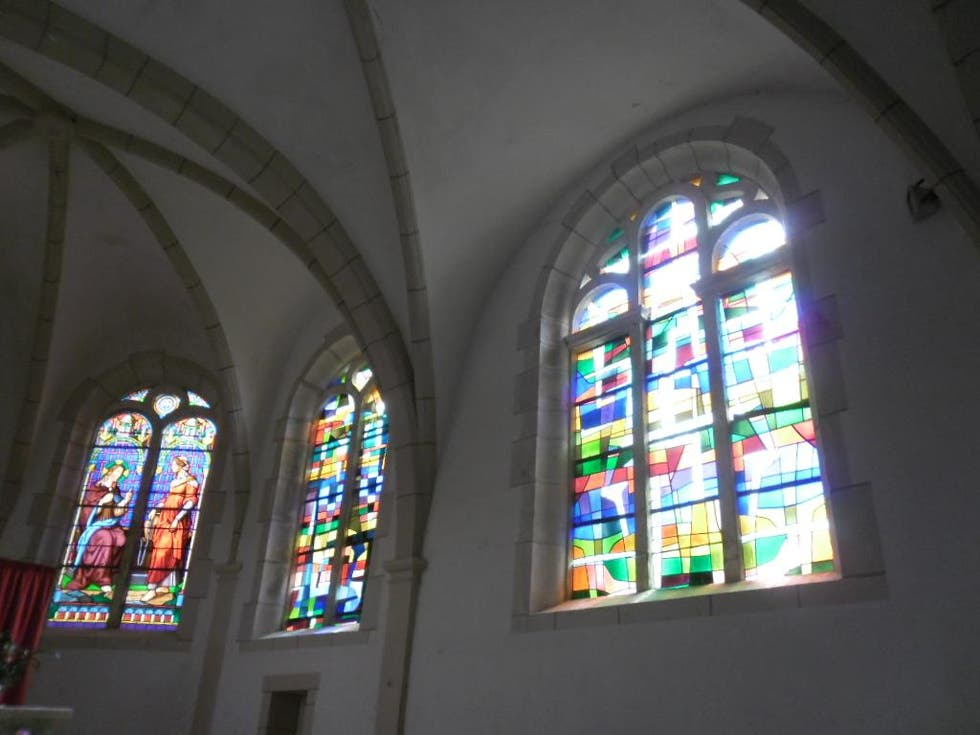 Stained Glass in Vouécourt