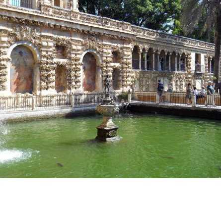 Turismo en Jardines del Real Alcázar
