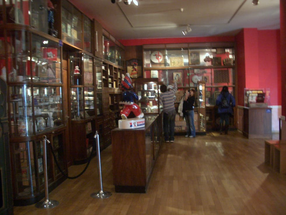 Restaurante en Museo del chocolate