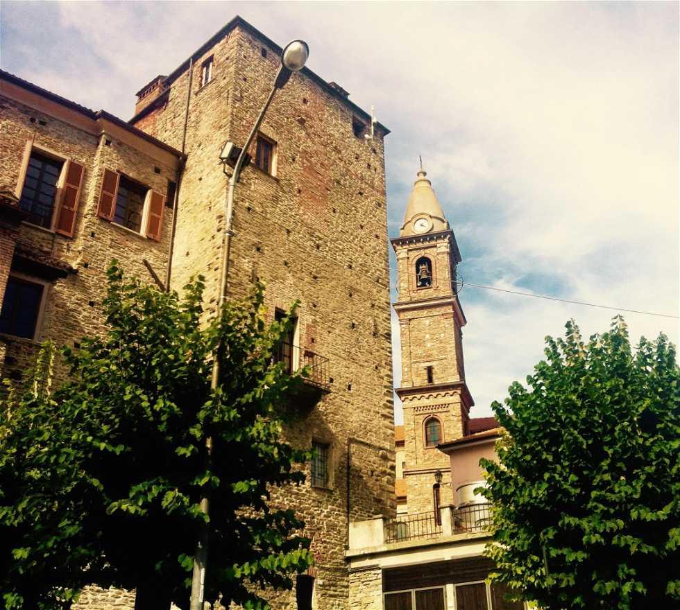 Arquitectura en Monastero Bormida