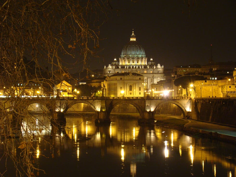 Night in Vatican City
