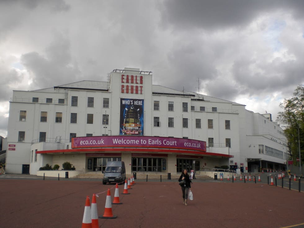 Edificio deportivo en Earls Court Exhibition Centre