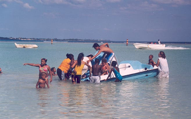 Vehicle in Boca Chica Dominican Republic