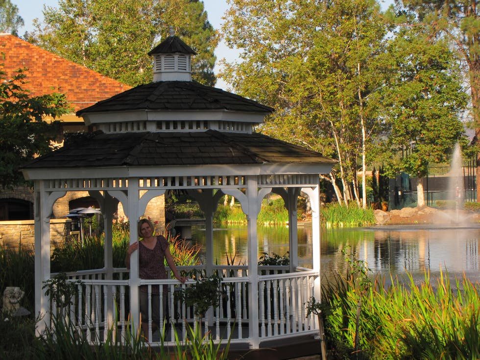Gazebo in Westlake Village