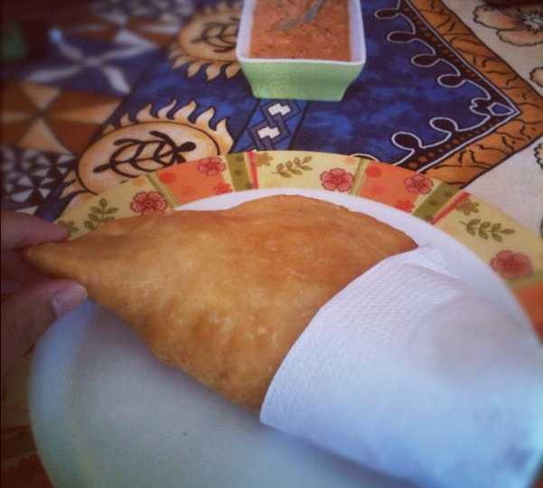 Comida en Local Tia Berta