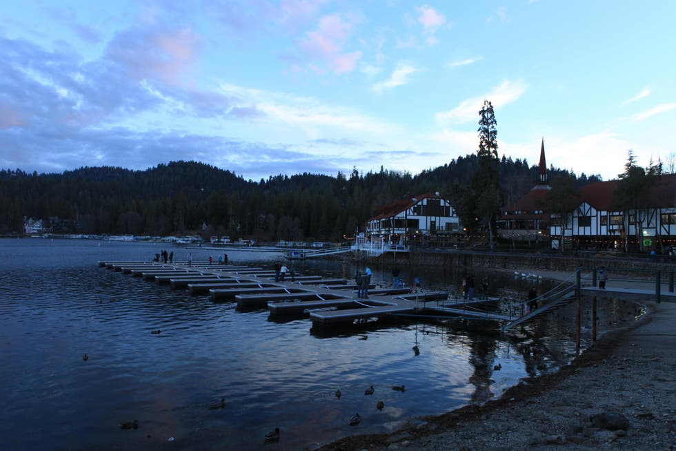 Water in Lake Arrowhead