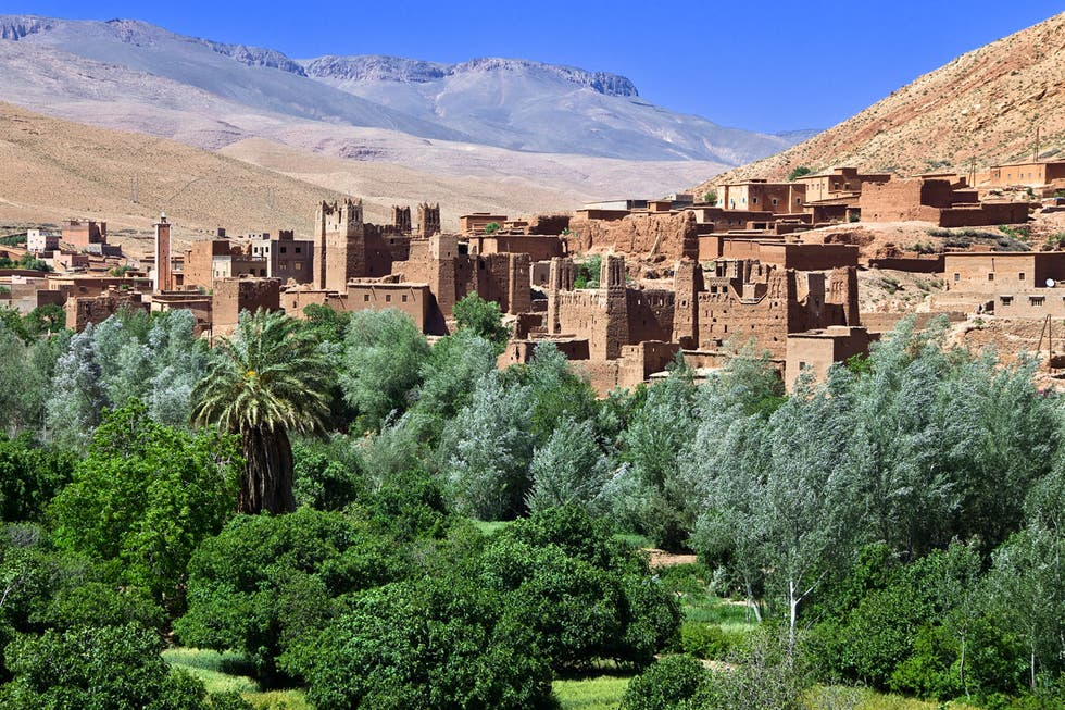 Town in Morocco