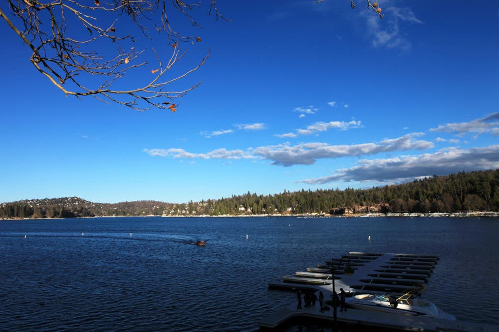 Blue in Lake Arrowhead