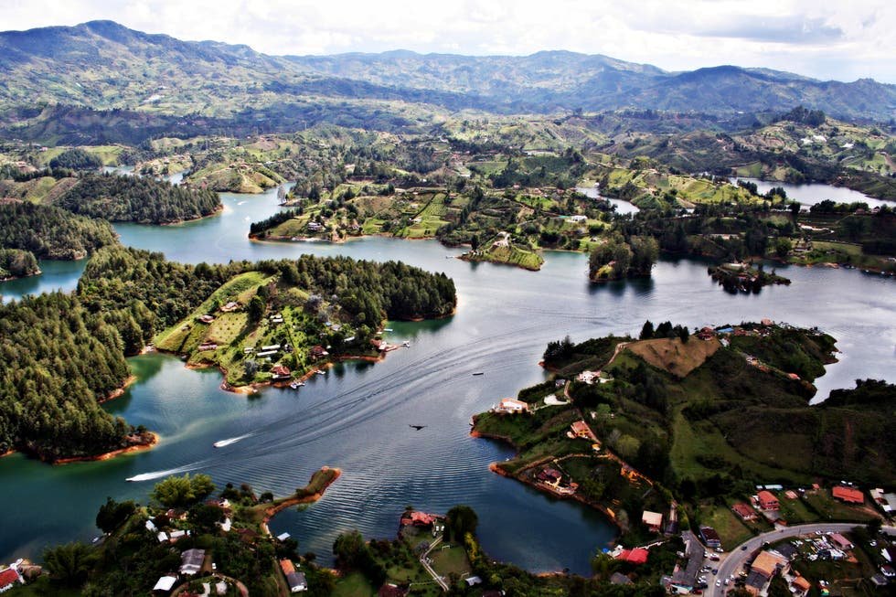 Reservoir in Antioquia
