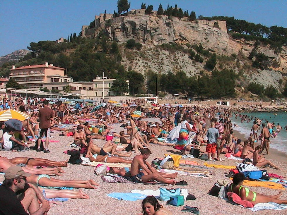 Costa en Playa de Cassis