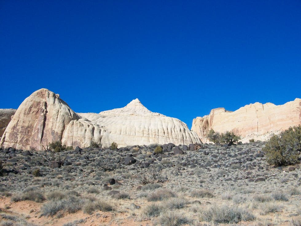 Desierto en Capitol Reef National Park