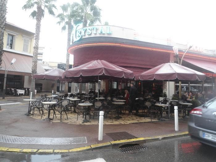 Toldo en Restaurant bar Le Crystal