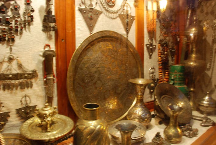 Ancient History in Souk Haddadine (Metalworkers Souk)