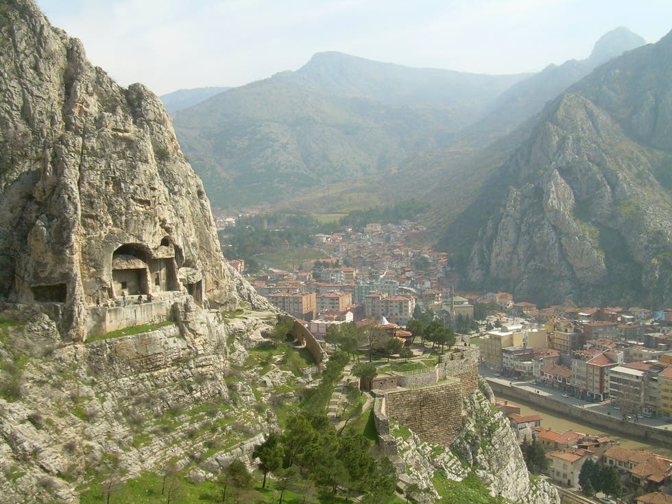 Town in Amasya