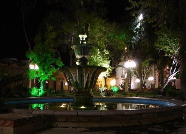 Night in San Luis Potosí