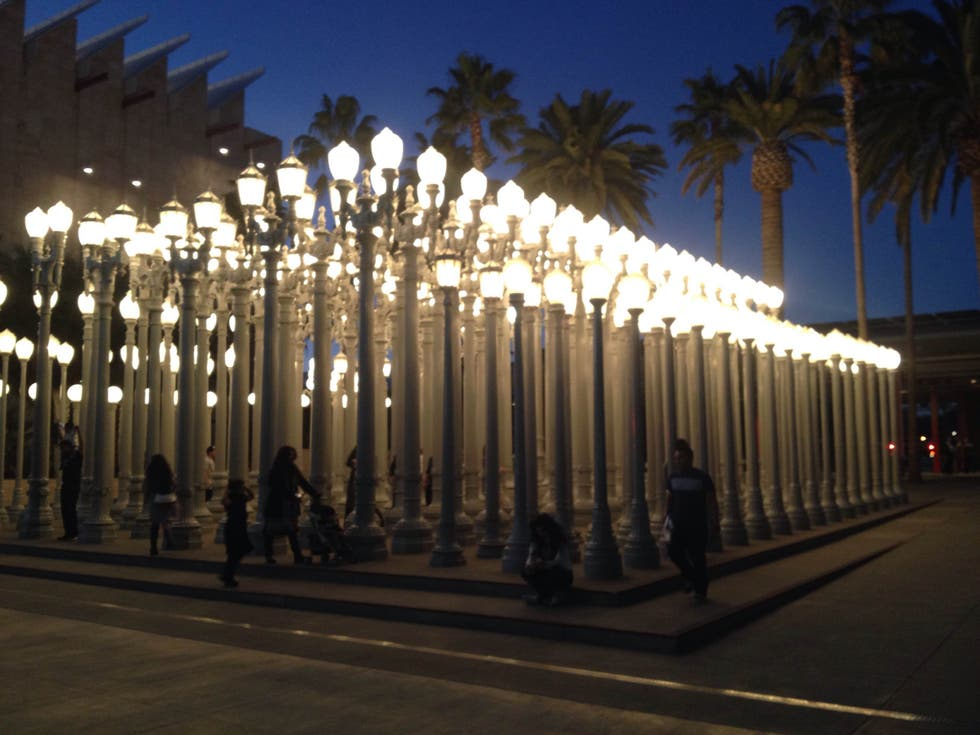 Árbol en LACMA Lights