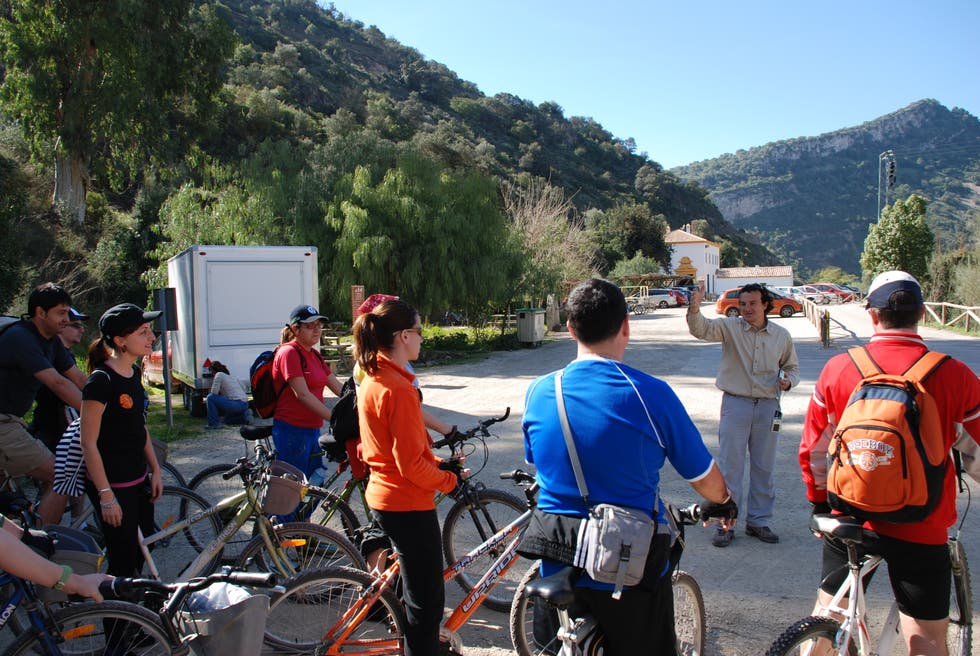 Cycling in Coín