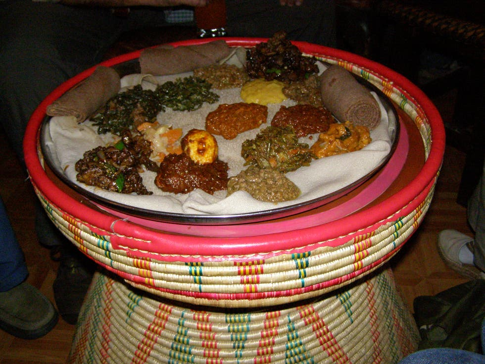 Vegetal en Addis Abeba