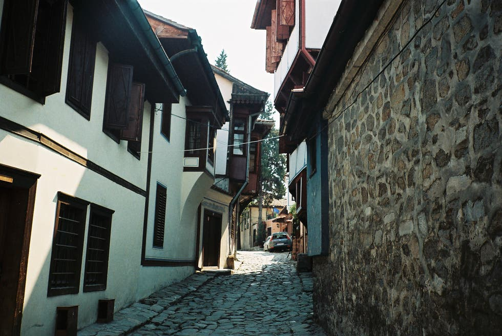 Alley in Bulgaria