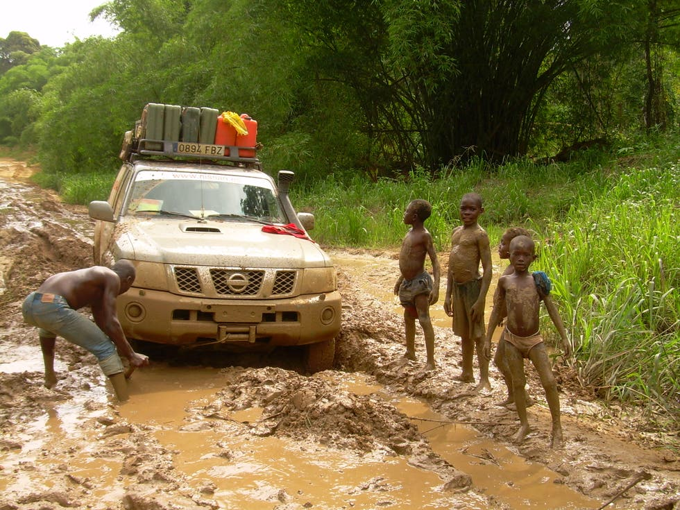 Vehicle in Congo