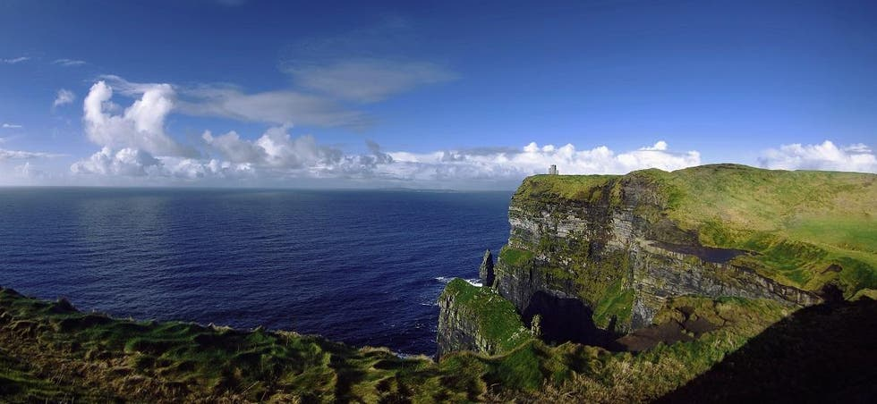 Azul en Cliffs of Moher