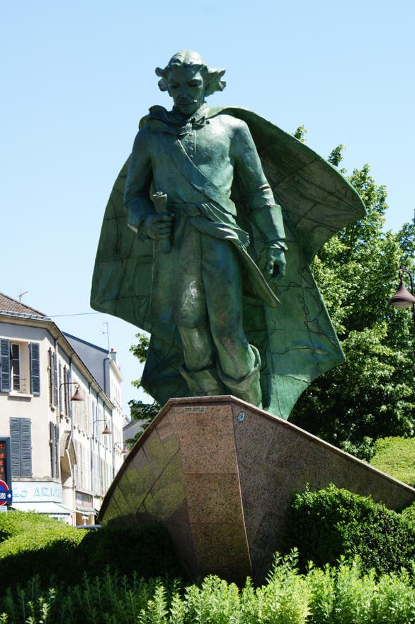 Estatua en Estatua de Jean Talon