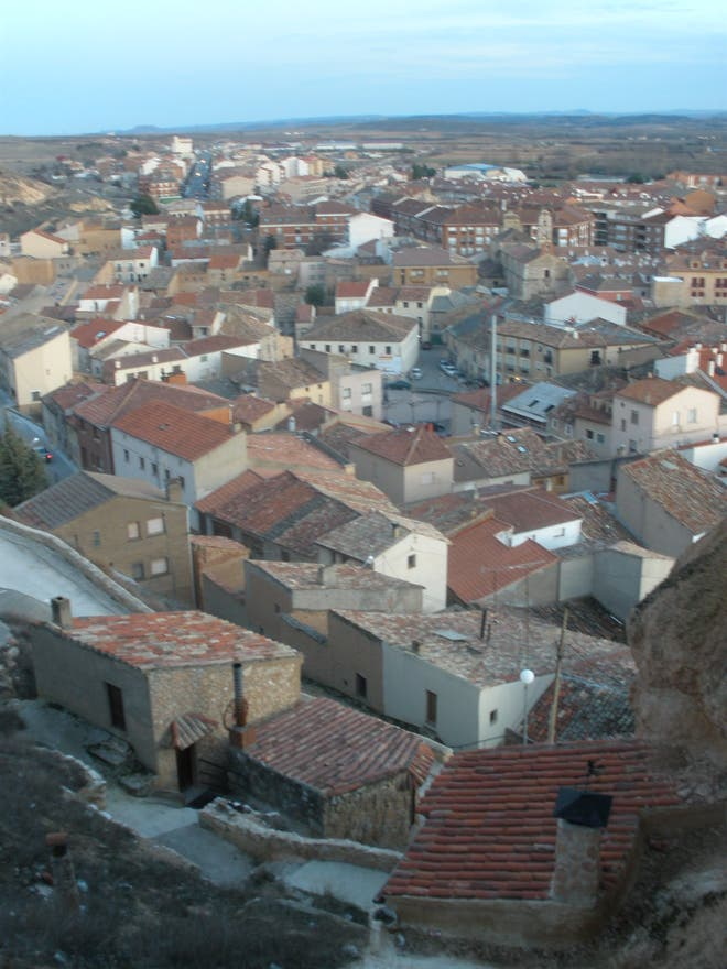 Skyline in San Esteban de Gormaz