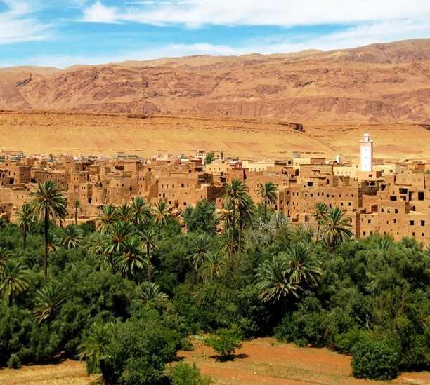 Valle en Tineghir