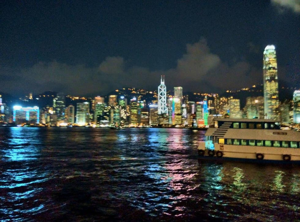 Anochecer en Star Ferry