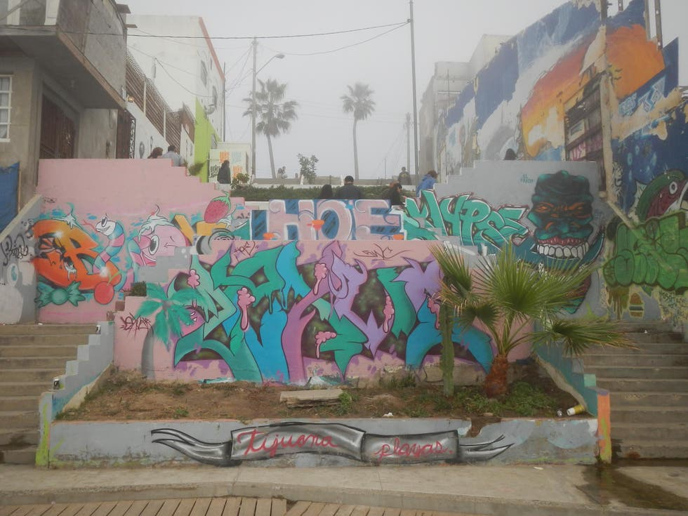Pared en Tijuana
