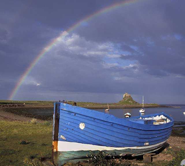 Blu a Lindisfarne