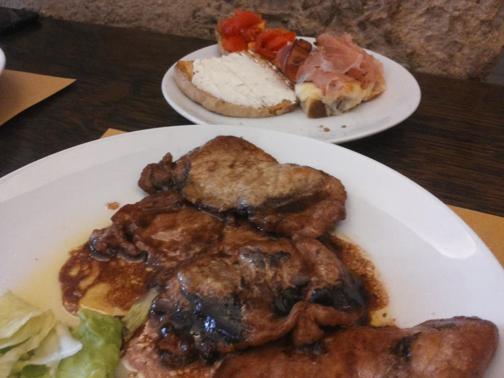 Meat in Itri