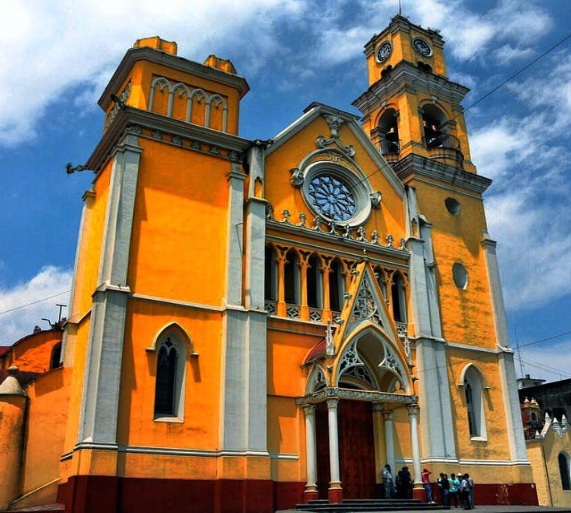 Amarillo en Centro Histórico de Querétaro