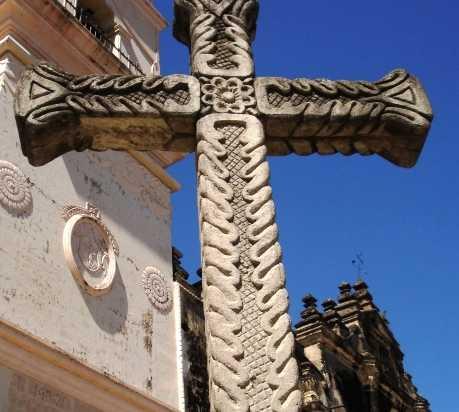 Escultura en Iglesia de la Merced