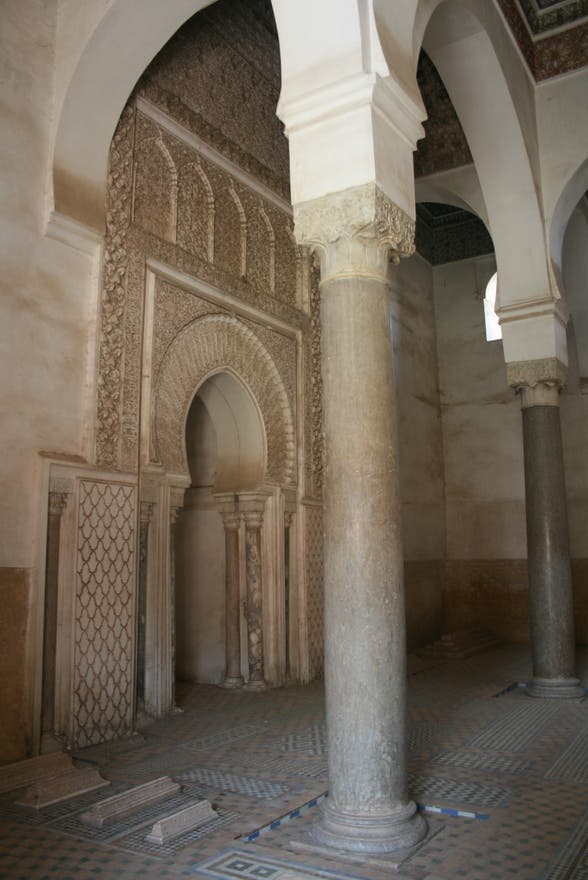 Rock in Saadian Tombs