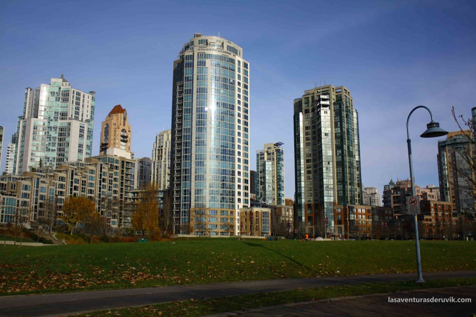 Zona urbana en False Creek