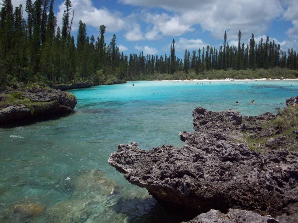 Blue in New Caledonia