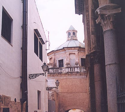 Calle en Monreale