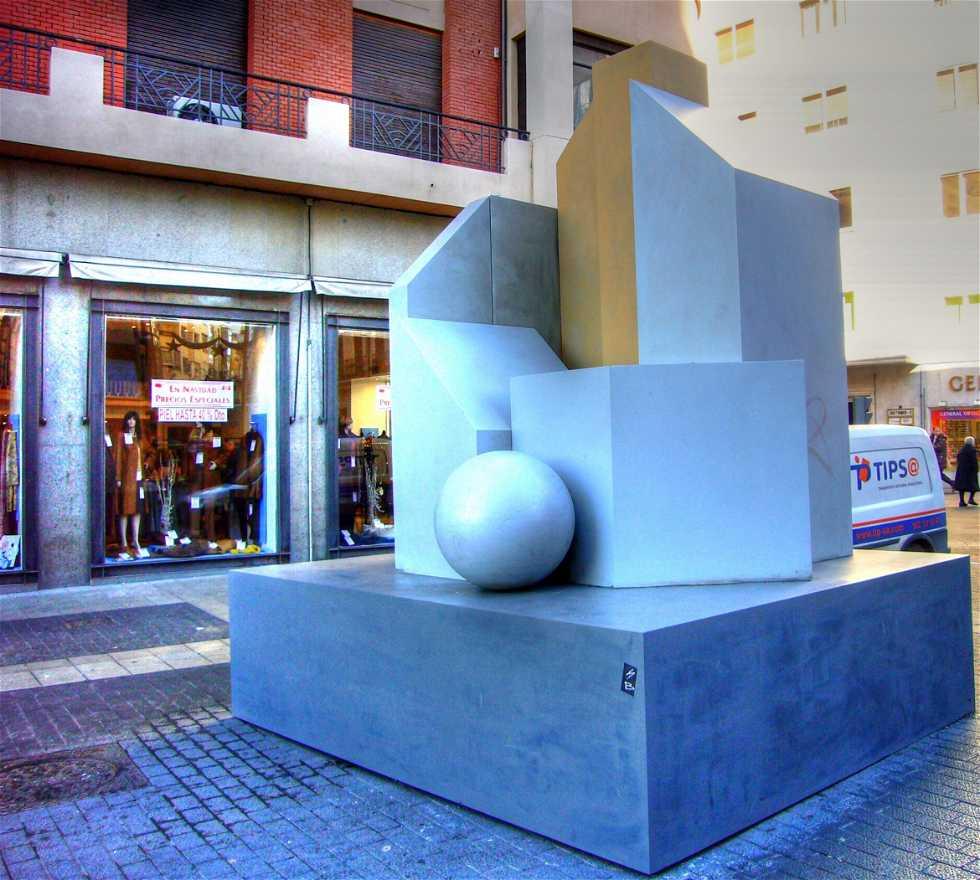 Recepción en Exposicion Gerardo Rueda, Valladolid