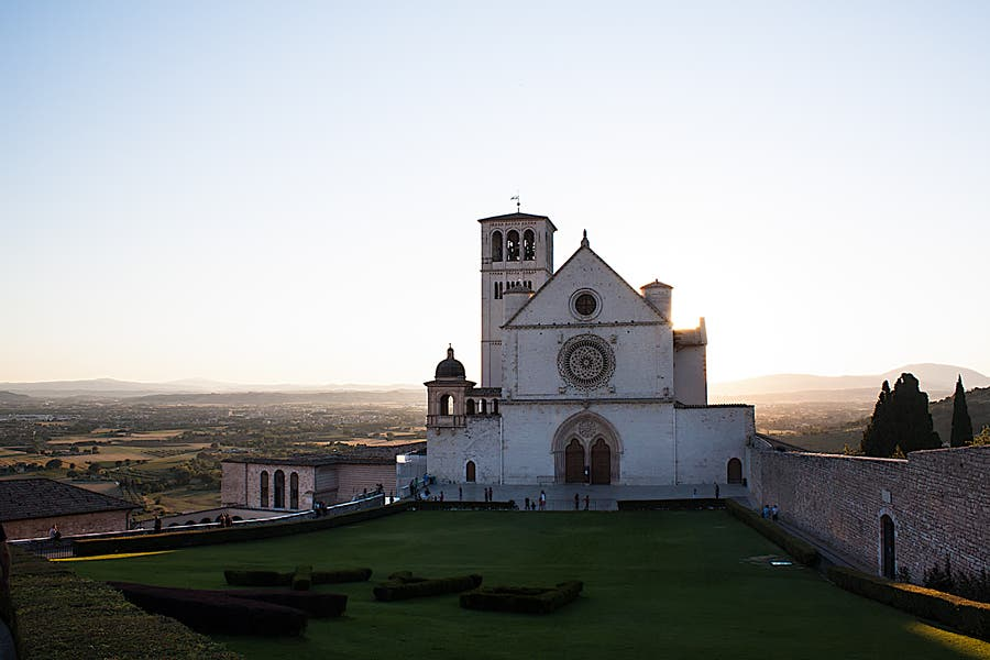 Fortification in Assisi