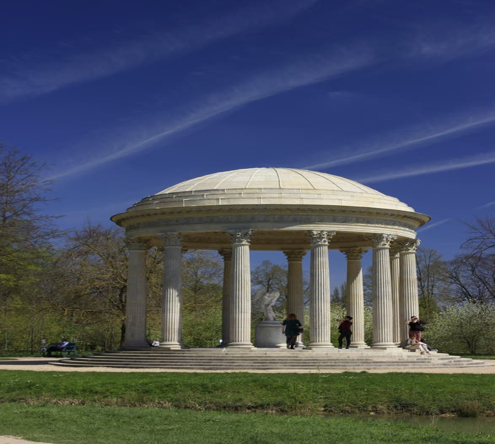 Templo griego en Pequeño Trianón