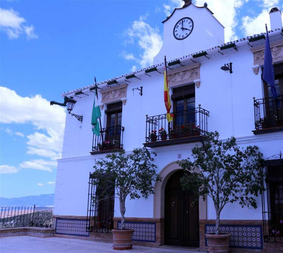 Pueblo en Casa Consistorial de Casarabonela