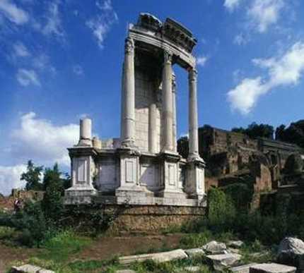 Villa en Templo de Vesta