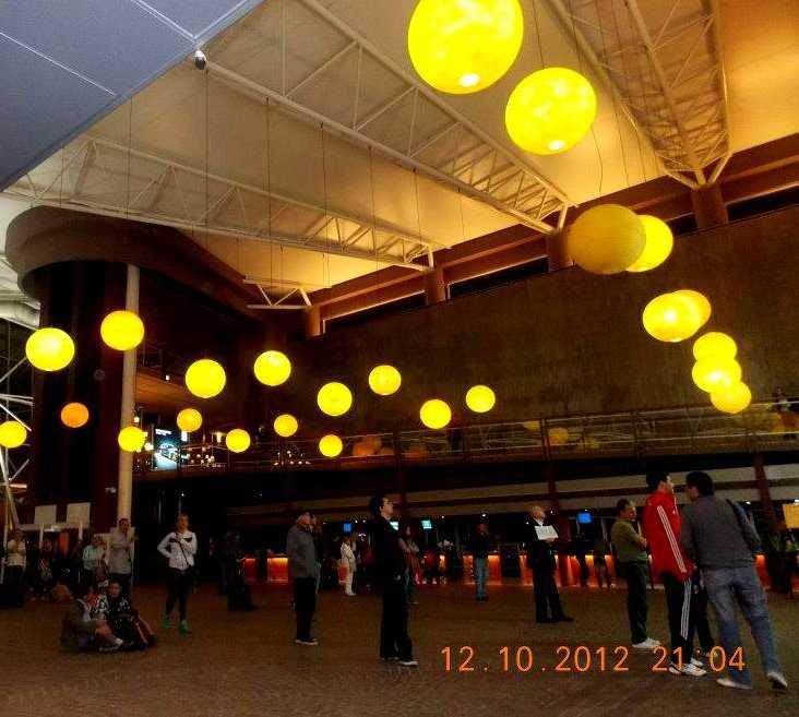 Ciudad en Terminal de Buquebus