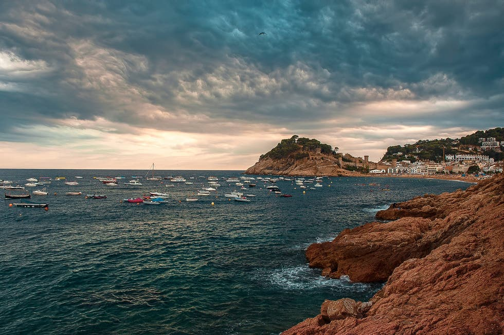 Cloud in Tossa de Mar